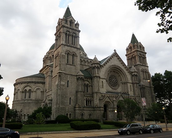 Cathedral Basilica of St. Louis. - VIA NHEYOB
