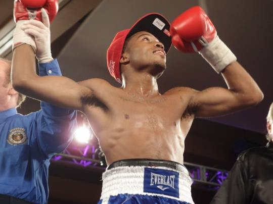 St. Louis amateur star Stephon Young won his professional debut with a suberb display of hand speed and, when he boxed, technical skills. - ALBERT SAMAHA