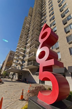 The high-rise Dorchester Apartments on Skinker Boulevard. - TOM CARLSON