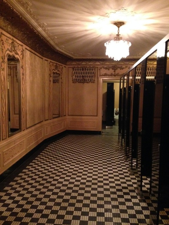 the fox theatre nominated for best restroom in america