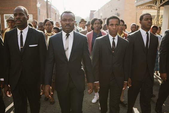 David Oyelowo plays Dr. Martin Luther King, Jr., in the movie Selma. - IMAGES COURTESY OF PARAMOUNT PICTURES