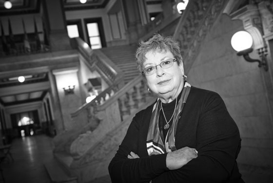 After 34 years heading the Recorder of Deeds Office, Sharon Carpenter was an untouchable power broker and pillar of St. Louis' old guard politicians. - STEVE TRUESDELL