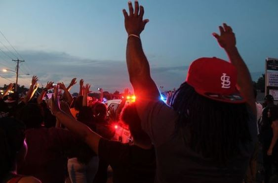 Police shootings have inspired protests across the area. - RAY DOWNS