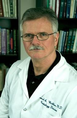 Dr. Sam Wickline, killer of sperm and HIV. - IMAGE VIA