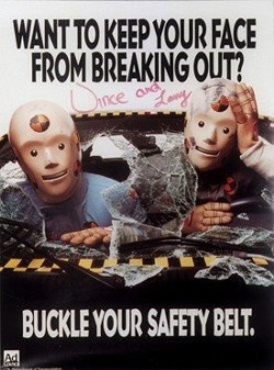 Maybe it's time to bring back the crash test dummies?