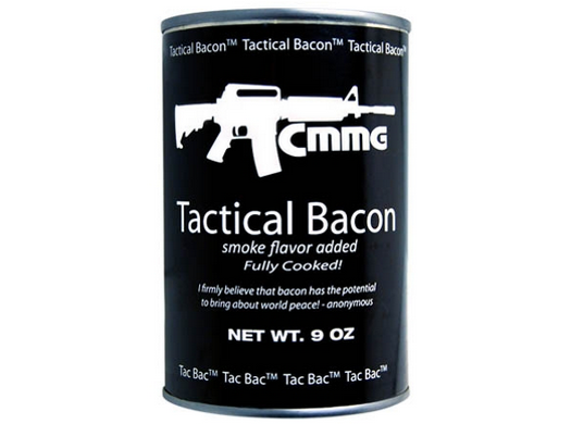 Step one: Open can. Step two: eat bacon. - VIA