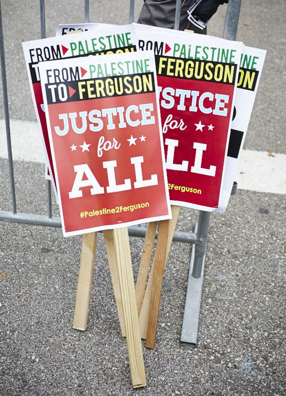 There's been a Ferguson-Palestine connection ever since police started using tear gas in Ferguson and Palestinians offered advice on how to wash it out.