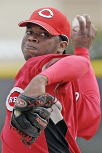 Johnny Cueto, the Reds' immensely talented young fireballer.