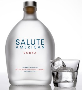 Salute American Vodka - IMAGE VIA