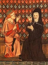 Heloise has Abelard, but no flan. - WIKIMEDIA COMMONS