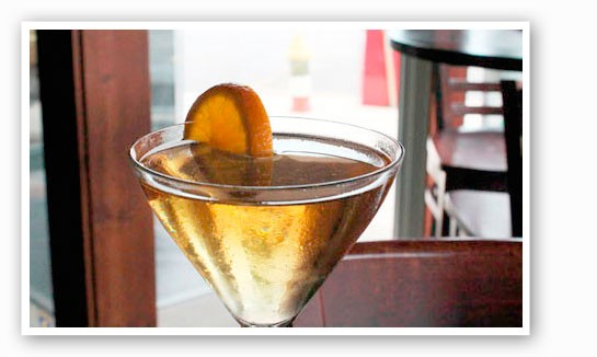Modesto's The Armada. Not your typical dry martini. | Evan C. Jones