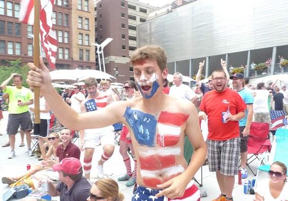 The US streaked to a 1-1 draw against England. - PHOTOS BY KEEGAN HAMILTON