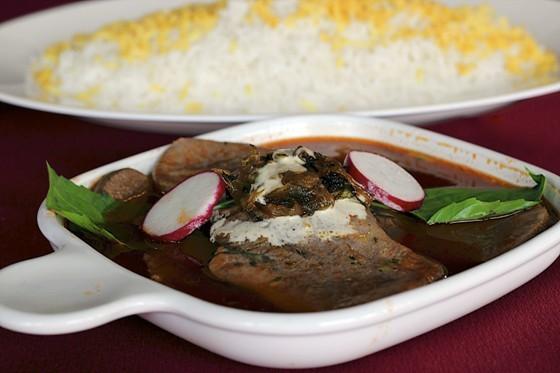 BEEF TONGUE AT CAFE NATASHA. | NATASHA BAHRAMI