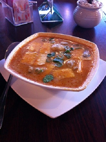 Tom kha soup at Pearl Cafe - KAYLEN WISSINGER
