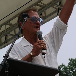 Pat Boone wants you to eat his meat. - IMAGE VIA