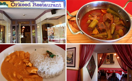 Orkeed offers $4.99 lunch specials including chicken makni -- chicken sauteed with butter, chile pepper, creamy tomato sauce, cilantro and mixed spices. - MABEL SUEN