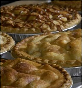 Eckert's pies, but not necessarily filled with Eckert's fruit.