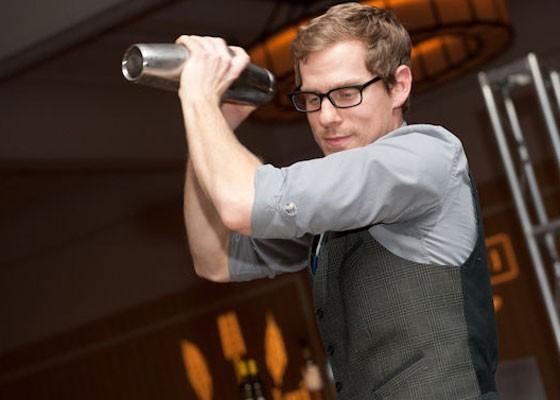 Taste's Kyle Mathis at Iron Fork 2013.   Jon Gitchoff