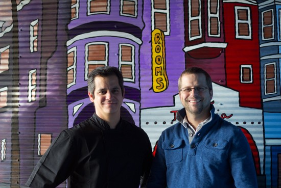 Brothers and business partners Jason and Adam Tilford. - MABEL SUEN