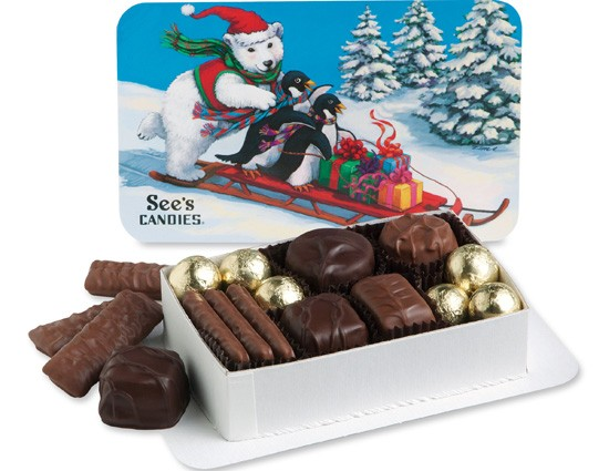 COURTESY OF SEE'S CANDIES