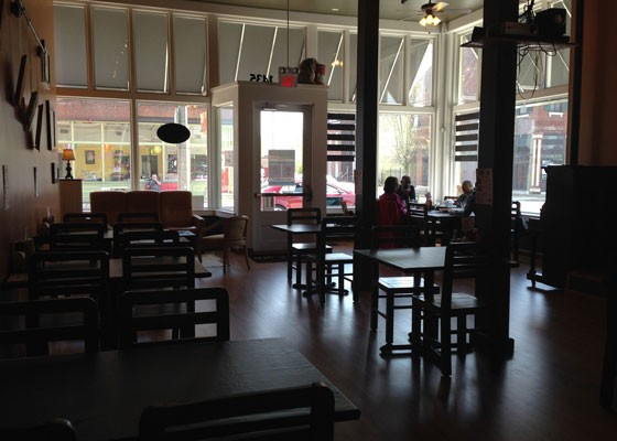 The main dining room at Sun Cafe. | Nancy Stiles