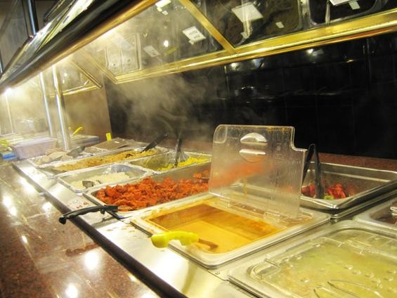 The lunch buffet at Mayuri in Creve Coeur - IAN FROEB