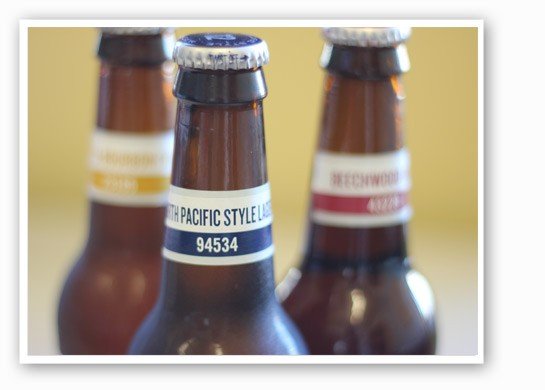 Project 12 brews from the sampler. | Nancy Stiles