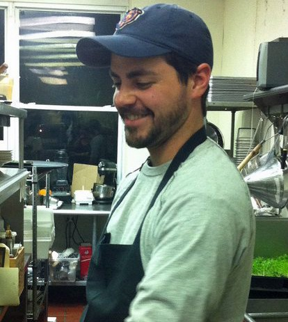 Acero chef Adam Gnau says love makes the restaurant go 'round. - HOLLY FANN