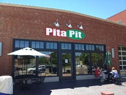 The Pita Pit on the east side of the Delmar Loop. - IAN FROEB