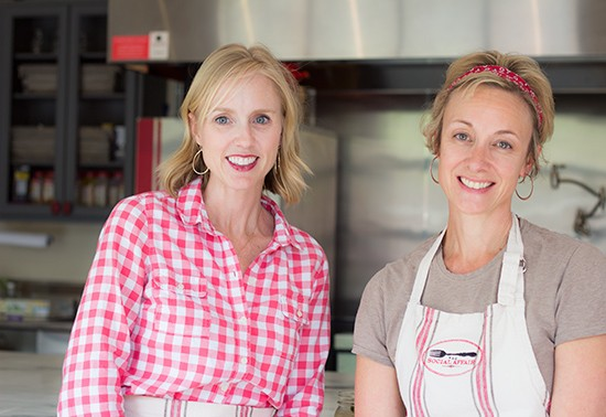 Owner/chef Kelly Spencer and market manager Christine Salsich.