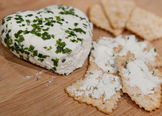 Cour de la Creme cheese from Baetje Farms, one of Larder and Cupboard's suppliers. | Crystal Rolfe