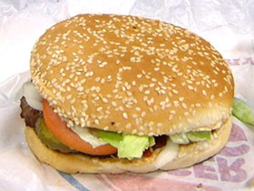 The Whopper, in its natural habitat