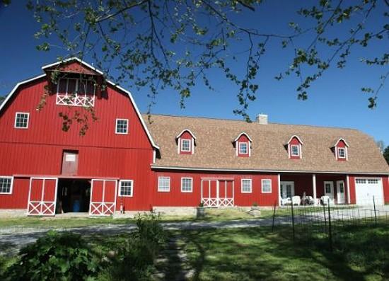 The utterly idyllic Baetje farmhouse will soon hold a chef's demo kitchen on the second floor. - BETH FARROW CLAUSS