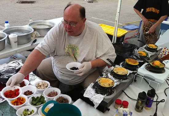 This man can whip you up one hell of an omelet - HOLLY FANN