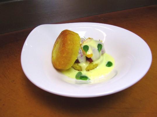 The Olive Oil Shortcake at Truffles - AMANDA WOYTUS