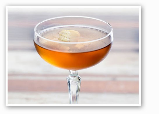 A bourbon cocktail at Mission Taco, one of the competitors.   Jennifer Silverberg