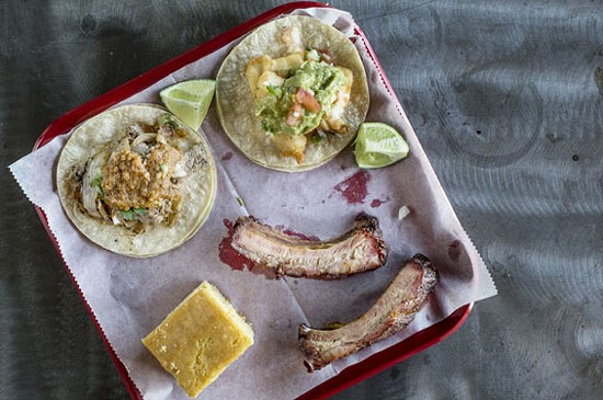Ribs and tacos at Spare No Rib | Jennifer Silverberg