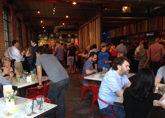 Inside the new Mission Taco Joint in Soulard. | Nancy Stiles