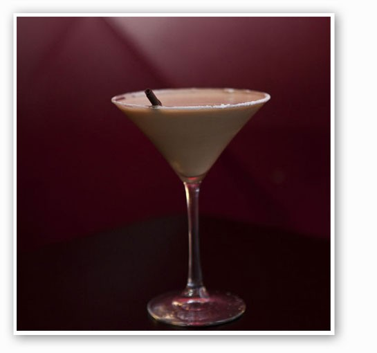 A dessert cocktail at Baileys' Chocolate Bar. | Laura Miller