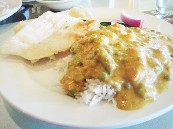 The vegetable korma at Gokul Snacks & Sweets - IAN FROEB