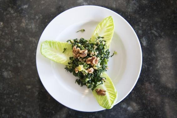 Endive salad. | Corey Woodruff
