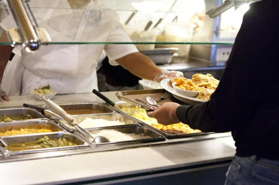 The cafeteria line at Sweetie Pie's at the Mangrove - SARAH RUSNAK