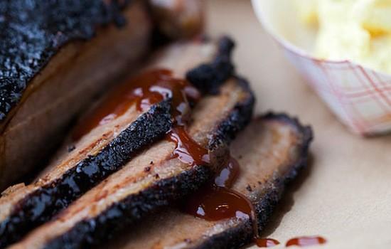 The beef brisket at Sugarfire Smoke House | Jennifer Silverberg