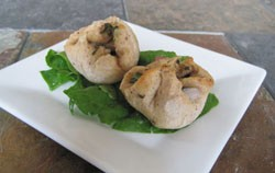 Middle Eastern savory tarts. - KRISTIE MCCLANAHAN
