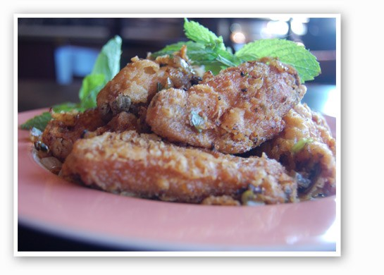 Do not underestimate the garlic chicken wings. | Cheryl Baehr