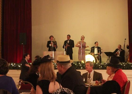 Miss Jubilee performing at the Franklin Room.   Nancy Stiles