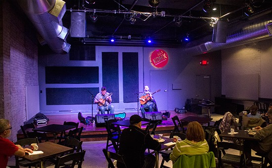 Live music from 10 a.m. to noon at the Stage at KDHX.