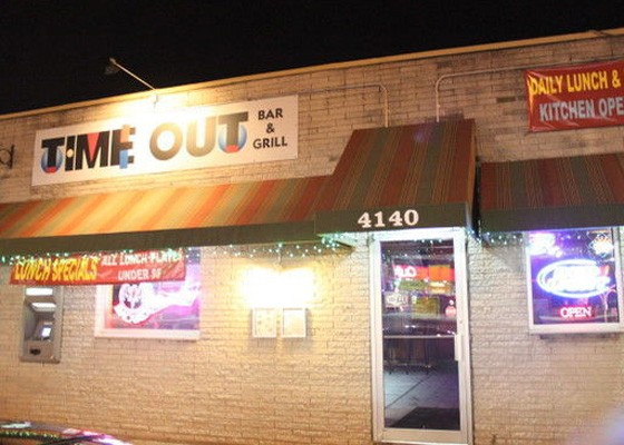 The Time Out Bar & Grill. | RFT Photo