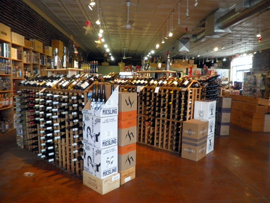 "Grapevine Wines: Our suggestion for a new slogan -- ""drunk young and fresh"" -- is under consideration. - KATIE MOULTON"