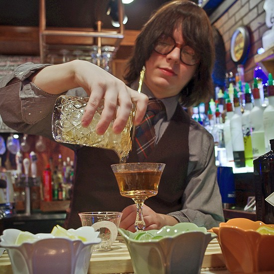A martinez by any other name: The Agent Orange cocktail. - ALISSA NELSON